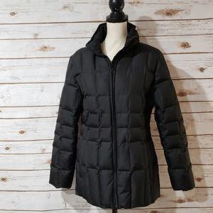 Merona Black Down Winter Coat - Size Small